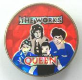 Queen - 'The Works' Prismatic Crystal Badge